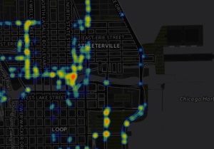 Chicago Snowplow Heatmap